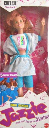 Barbie High School Jazzie CHELSIE Doll (1988 Mattel - Barbie 1988 Doll