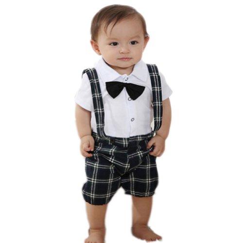PanDaDa Gentleman Overalls Suspender Trousers