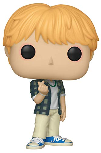 Funko- Pop Vinilo BTS Jin Figura Coleccionable, Multicolor, Estandar (37862)