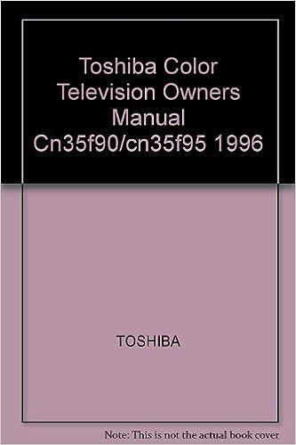 toshiba hdtv user manual