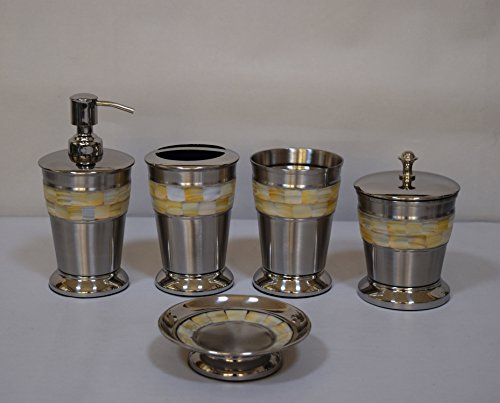 5-pc-mother-of-pearl-stainless-steel-bath-accessory-set