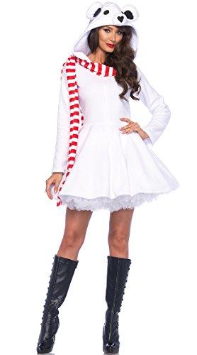 Leg Avenue Women's Cozy Polar Bear Costume