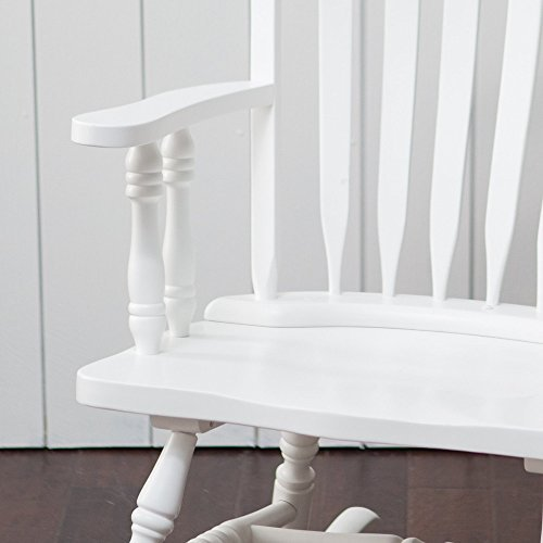 Windsor Baby Nursery Rocking Chair - White by Belham Living