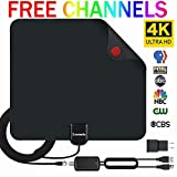 HDTV Antenna Indoor Digital TV Antenna, Lxuemlu 50 Miles Rang HD Antenna