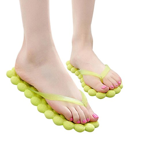 Flip Flops Summer Women Green Non Shoes Bath Beach Foam Slip Slippers TM Slippers AMA Massage qUz8HH
