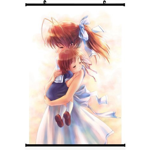 Anime World Japanese Anime Style CLANNAD Wall Scroll Poster