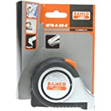 Bahco MTS-5-25-E  Tape Measure - Stainless Steel Construction Grade, 1 x 16-Inch