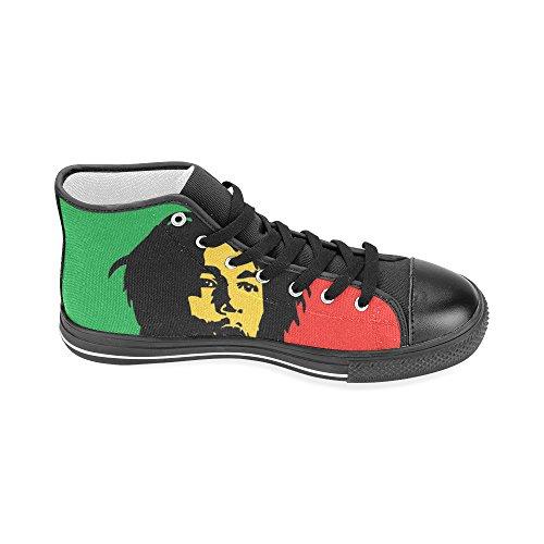 Lona Jahbiz para Zapatillas negro Negro mujer de EwETq4