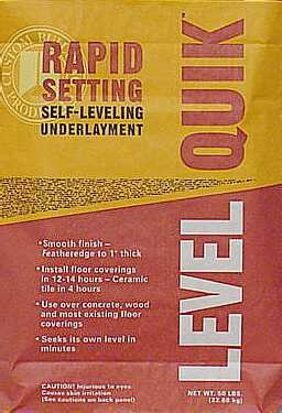 (Level Quik Self-Leveling Underlayment Mix 10 Min Natural 50 Lb)