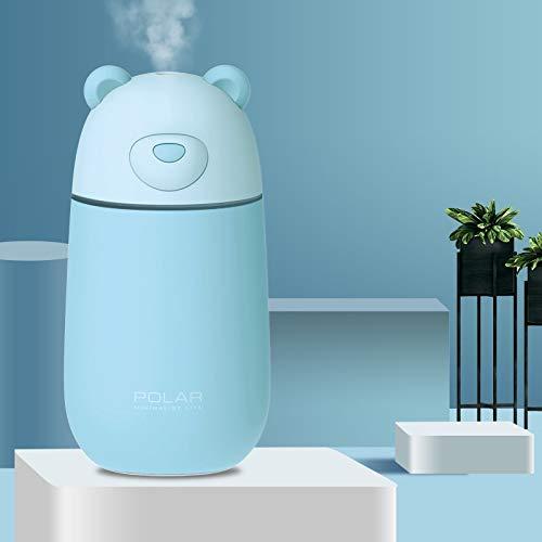 (Yu2d  Night Light USB Diffuser Air Purifier 300ML Humidifier Air Atomizer Humidifier(Blue))