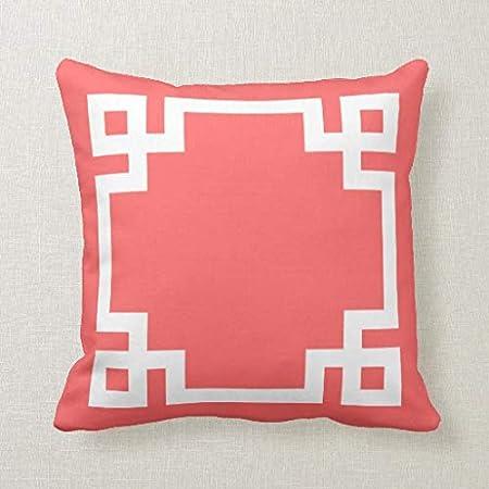 CELYCASY - Funda de cojín Decorativa con diseño de Llave ...