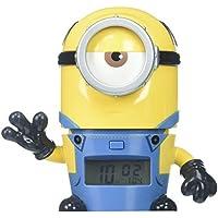 BulbBotz Despicable Me 3 2021234 Mel Minions Kids Night Light Alarm Clock