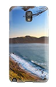 Durable Case For The Galaxy Note 3- Eco-friendly Retail Packaging(golden Gate Bridge)