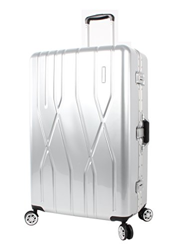 andiamo-luggage-aluminum-frame-28-large-zipperless-suitcase-with-spinner-wheels-28in-silver
