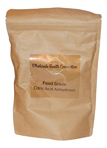 Citric Acid Powder - Ultra Fine Pure Powdered Crystals - Natural Preservative Food Grade Quality (5 lbs) by...