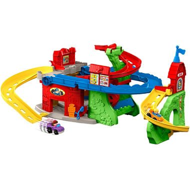 Fisher-Price Little People Sit 'n Stand Skyway Playset In...