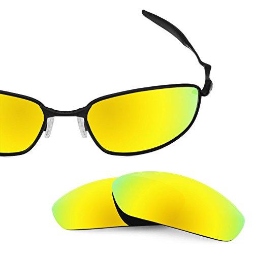 Combo de 4 pares de lentes Revant polarizados, de reemplazo, para Oakley  Whisker K020 61108b6ba9