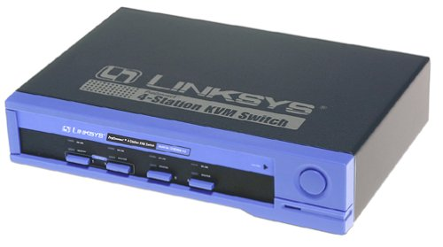 Cisco-Linksys SVIEW04 ProConnnect 4-station CPU KVM Switch