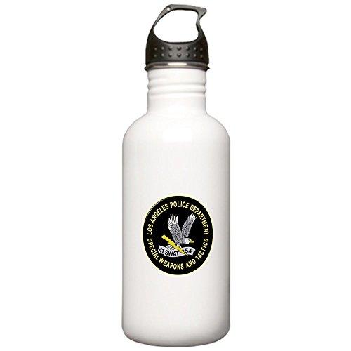 CafePress - LAPD SWAT Water Bottle - Stainless Steel Water Bottle, 1.0L Sports Bottle (Dept Patch Police)