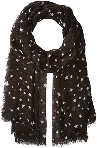 (Michael Stars Women's Oh My Stars Wrap, black, One Size)