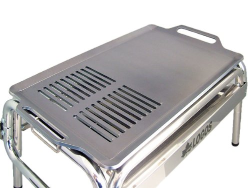 ロゴス EZCステンチューブラルプラスM 対応 グリルプレート 板厚6.0mm (グリル本体は商品に含まれません) B00HQY35XW
