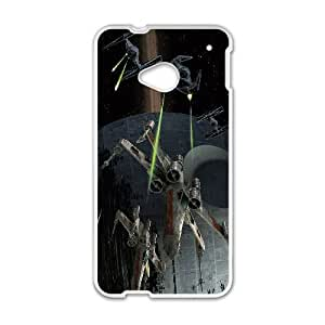 HTC One M7 White Cell Phone Case Star Wars TXBY4136
