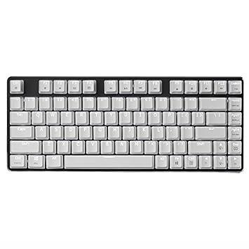 Mechanisch Gaming Tastatur Weiße: Amazon.de: Computer & Zubehör