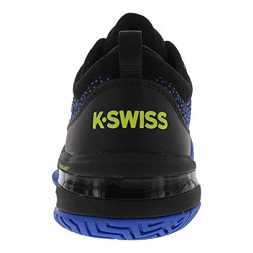 K-SWISS KNITSHOT NERO BLU GIALLO