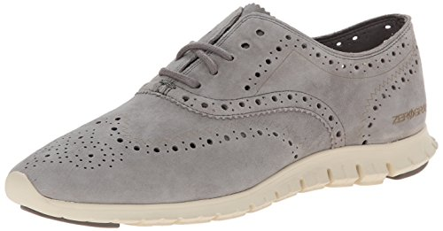 Cole Haan Women's Zerogrand Wing OX Oxford, Ironstone Suede, 5 C US by Cole Haan