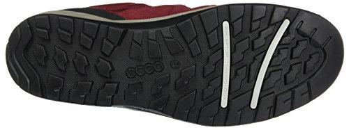 Brick Shoe Black Red Yura Men's ECCO 50612 Hiking Black q0wxznZ4v