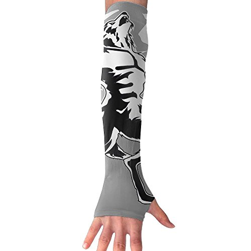 Sun UV Cooling Arm Sleeves for Cycling Basketball Football Running Sports HI PL