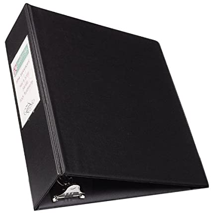 avery mini durable binder for 55 x 85 inch pages 2 inch round ring