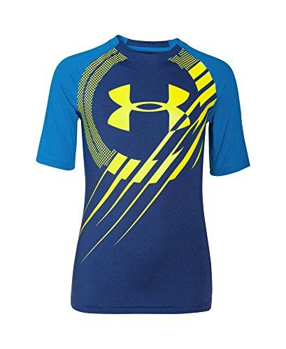 Under Armour Boys' Big Logo Short Sleeve Tee Shirt – DiZiSports Store