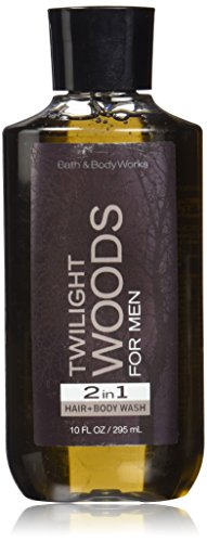 ight Woods for Men 10 oz 2 in 1 Hair Body Wash ()
