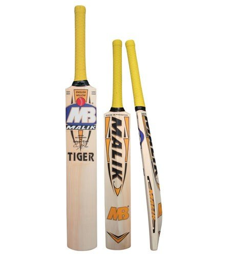 MB Malik English Willow Cricket Bat Youth Size 4/5/6/H