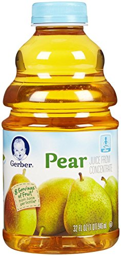 Gerber Juice-Pear-32 Fluid Ounces-6 Pack