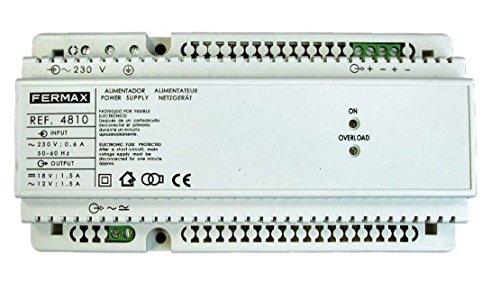 Fermax Alimentation 12/V AC et 18/V DC//1,5/A 4810