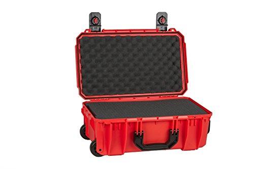 Seahorse Protective Equipment Cases SE830 Carry On Case with Foam, Orange, Medium