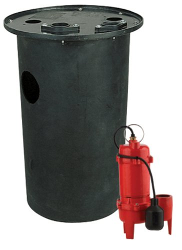 Liberty Power Filter - Red Lion RL-WCS50TA Cast Iron 1/2-HP 5600-GPH Sewage Pump with Tethered Switch