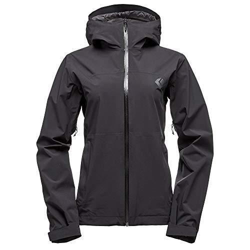 Black Diamond Stormline Stretch Rain Shell Jacket - Women's Black Small