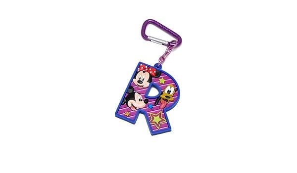 Mickey Mouse y sus amigos de la letra R Laser Cut Llavero ...