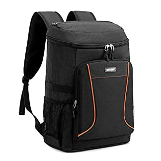 Estarer Insulated Cooler Backpack 32L Leakproof Lunch Cool Bag Lightweight Large Rucksack for Picnic Beach Camping 4