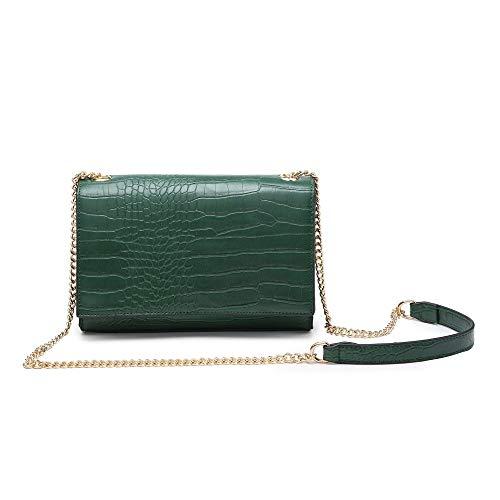 Shoulder Strap pocket Bag Design Multi Women Ladies Craze Envelop New Cr Bags Shoulder London green Long WI1YP