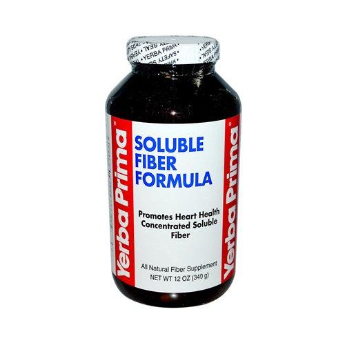 Gros Yerba Prima fibres solubles Formula - 12 oz, [Santé suppléments, santé digestive]