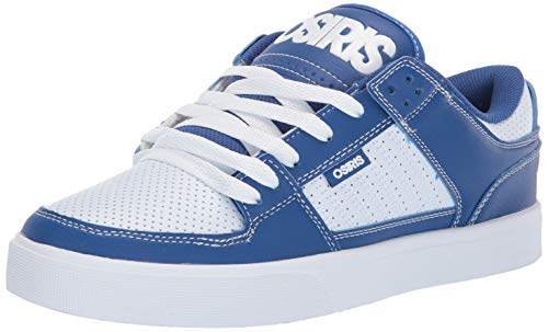 f44d2949f0 Osiris Men's Protocol Skate Shoe Blue/White/Black 8 M US