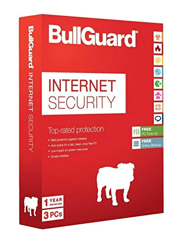BullGuard Internet Security 2020 | meerdere apparaten | 3 apparaten | 1 Jaar
