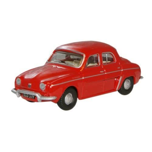 Oxford Diecast 76RD004 Red Renault Dauphine