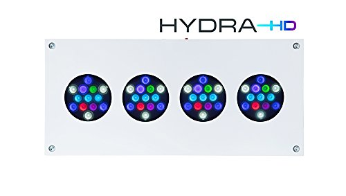 AquaIllumination Hydra FiftyTwo +HD LED Light, White by AquaIllumination