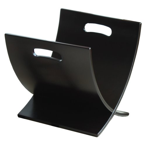 Oceanstar M1170 Contemporary Wooden Magazine Rack, ()