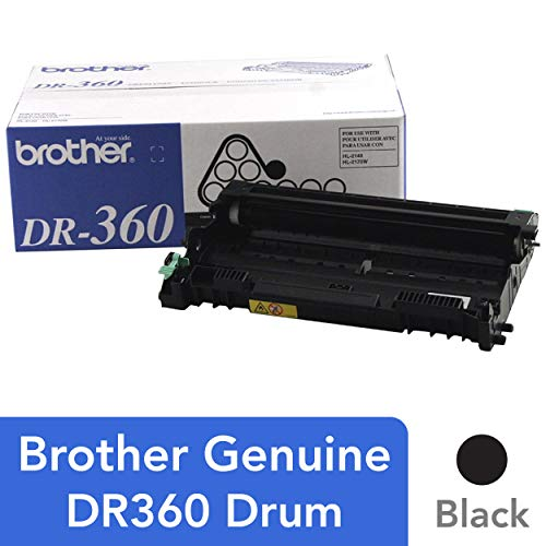 Brother Genuine Drum Unit, DR360, Seamless Integration, Yields Up to 12,000 Pages, -